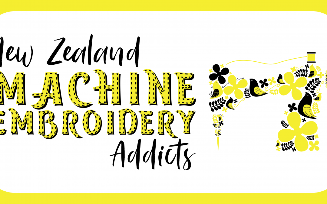 August Auckland Machine Embroidery Get Together – Let's Create!