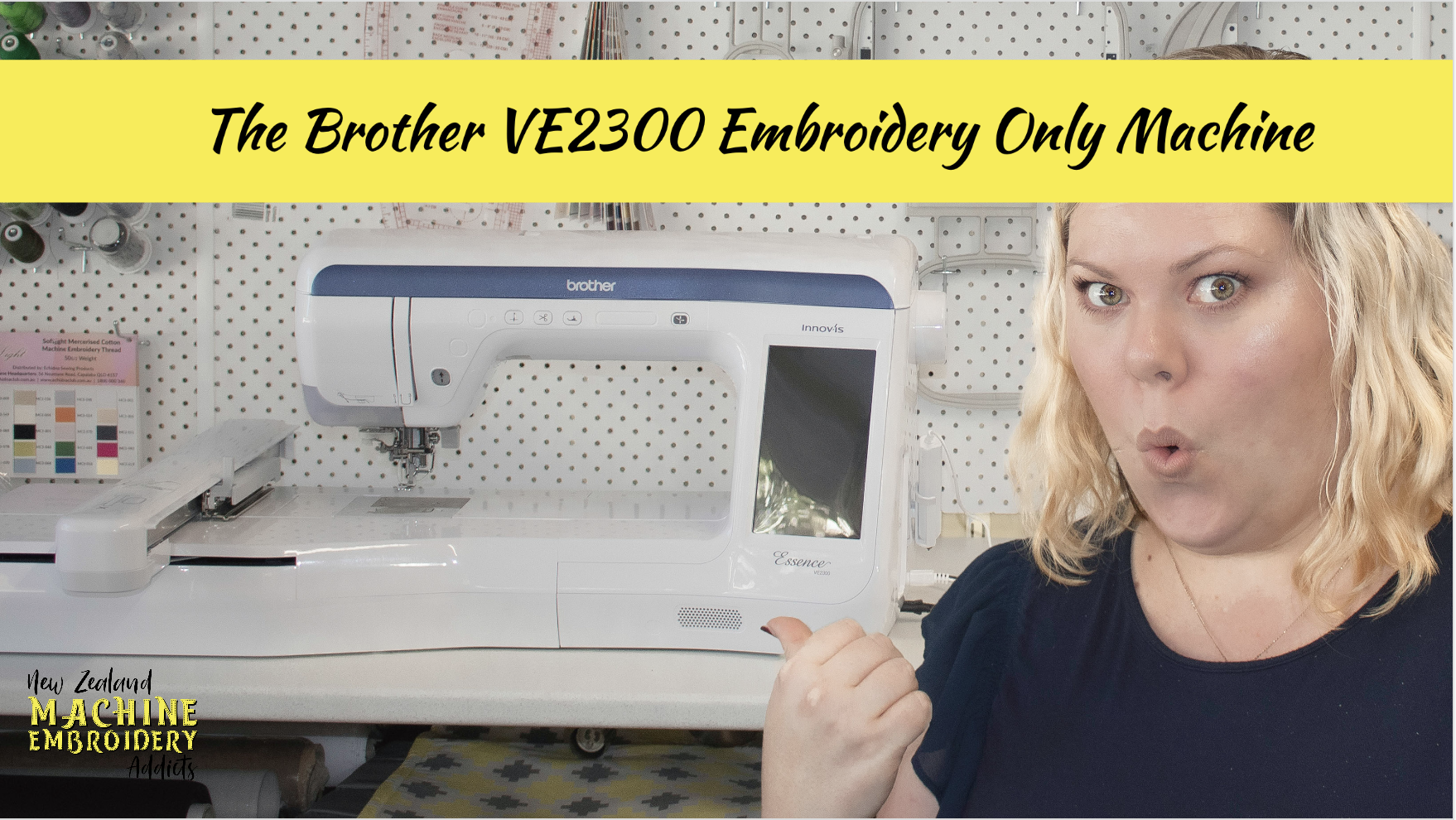 Brother VE2300 Embroidery Machine